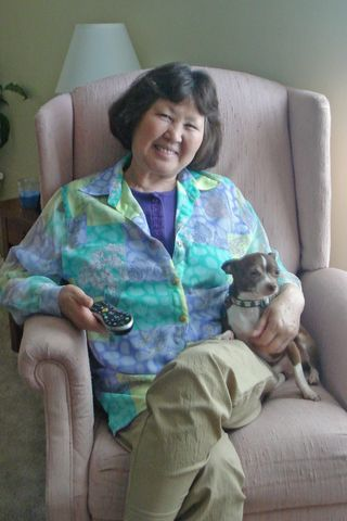 Grandma and Biscuit