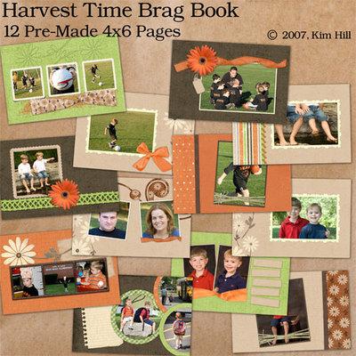 Harvesttimebragbook
